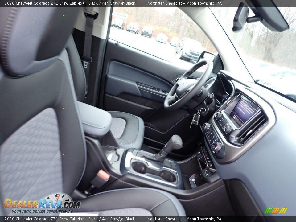 2020 Chevrolet Colorado Z71 Crew Cab 4x4 Black / Ash Gray/Jet Black Photo #10