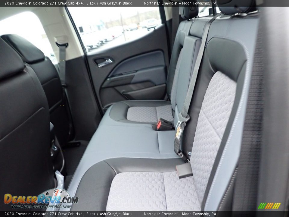2020 Chevrolet Colorado Z71 Crew Cab 4x4 Black / Ash Gray/Jet Black Photo #13