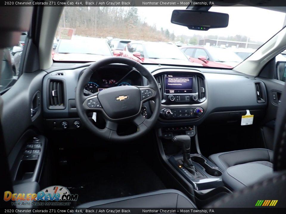 2020 Chevrolet Colorado Z71 Crew Cab 4x4 Black / Ash Gray/Jet Black Photo #14
