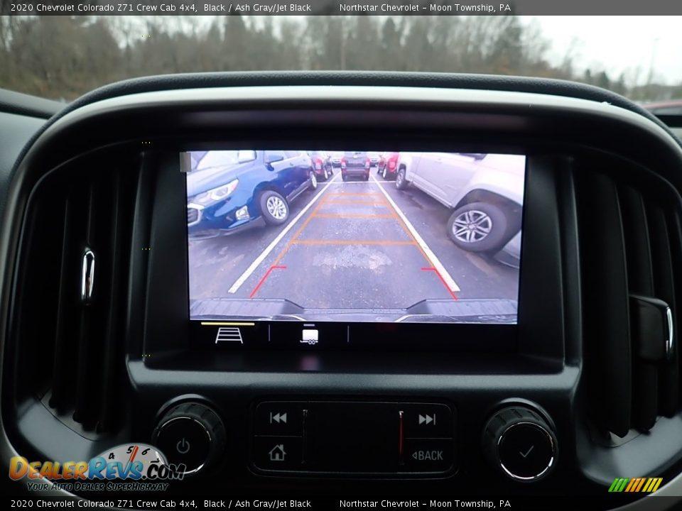 2020 Chevrolet Colorado Z71 Crew Cab 4x4 Black / Ash Gray/Jet Black Photo #19