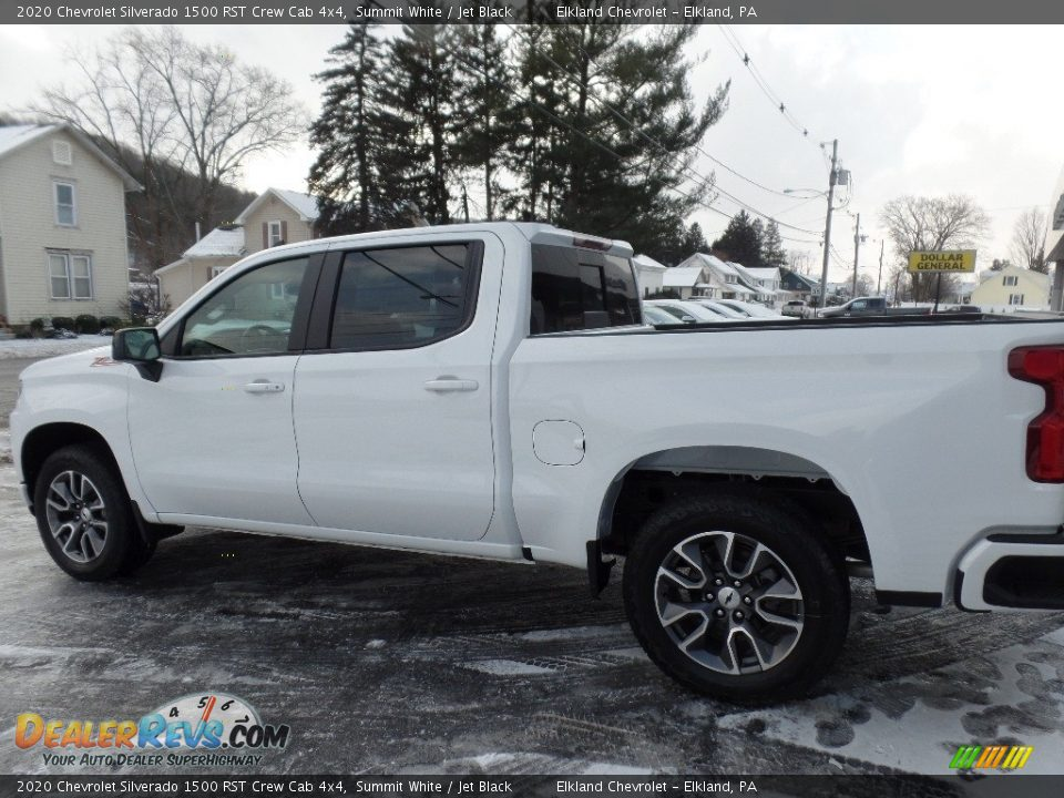 2020 Chevrolet Silverado 1500 RST Crew Cab 4x4 Summit White / Jet Black Photo #5