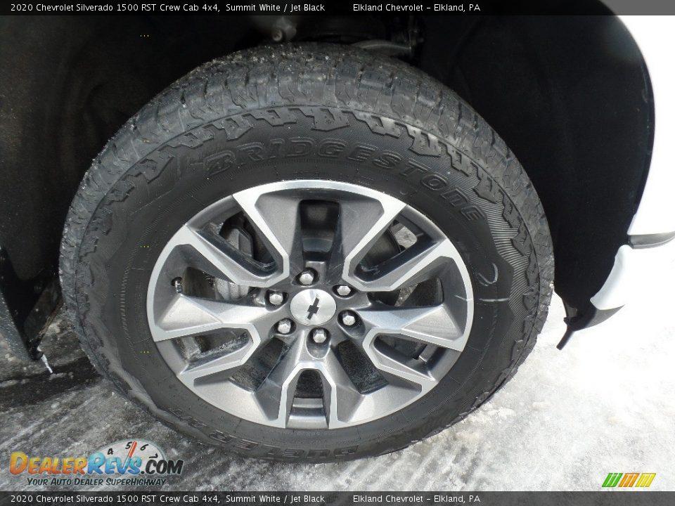2020 Chevrolet Silverado 1500 RST Crew Cab 4x4 Summit White / Jet Black Photo #11