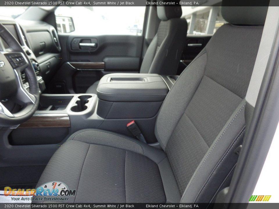 2020 Chevrolet Silverado 1500 RST Crew Cab 4x4 Summit White / Jet Black Photo #20
