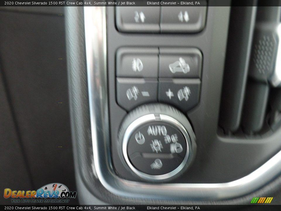 2020 Chevrolet Silverado 1500 RST Crew Cab 4x4 Summit White / Jet Black Photo #23
