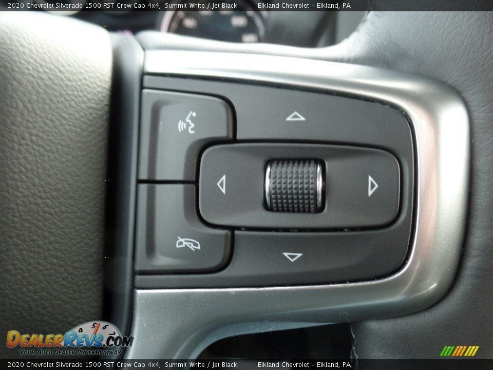 2020 Chevrolet Silverado 1500 RST Crew Cab 4x4 Summit White / Jet Black Photo #25