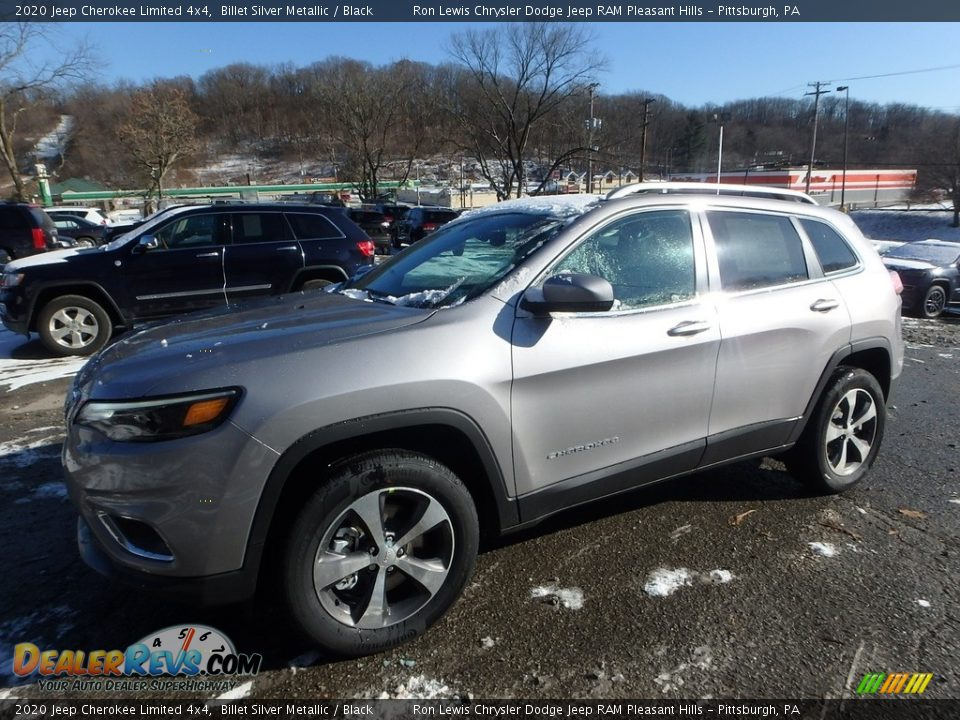 2020 Jeep Cherokee Limited 4x4 Billet Silver Metallic / Black Photo #1
