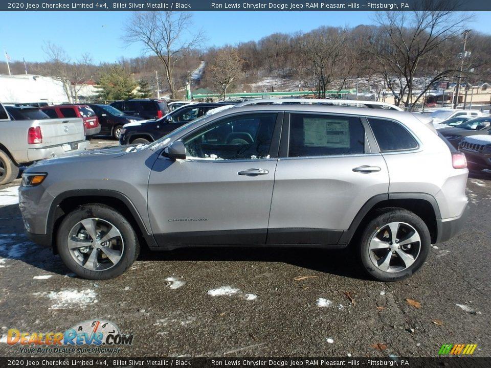 2020 Jeep Cherokee Limited 4x4 Billet Silver Metallic / Black Photo #2