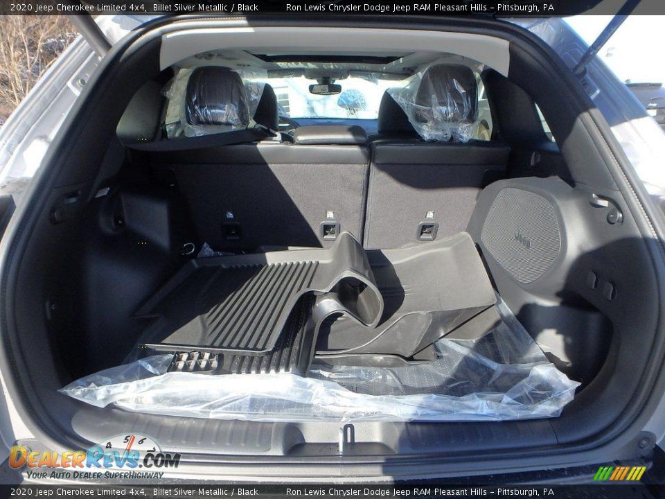 2020 Jeep Cherokee Limited 4x4 Billet Silver Metallic / Black Photo #5