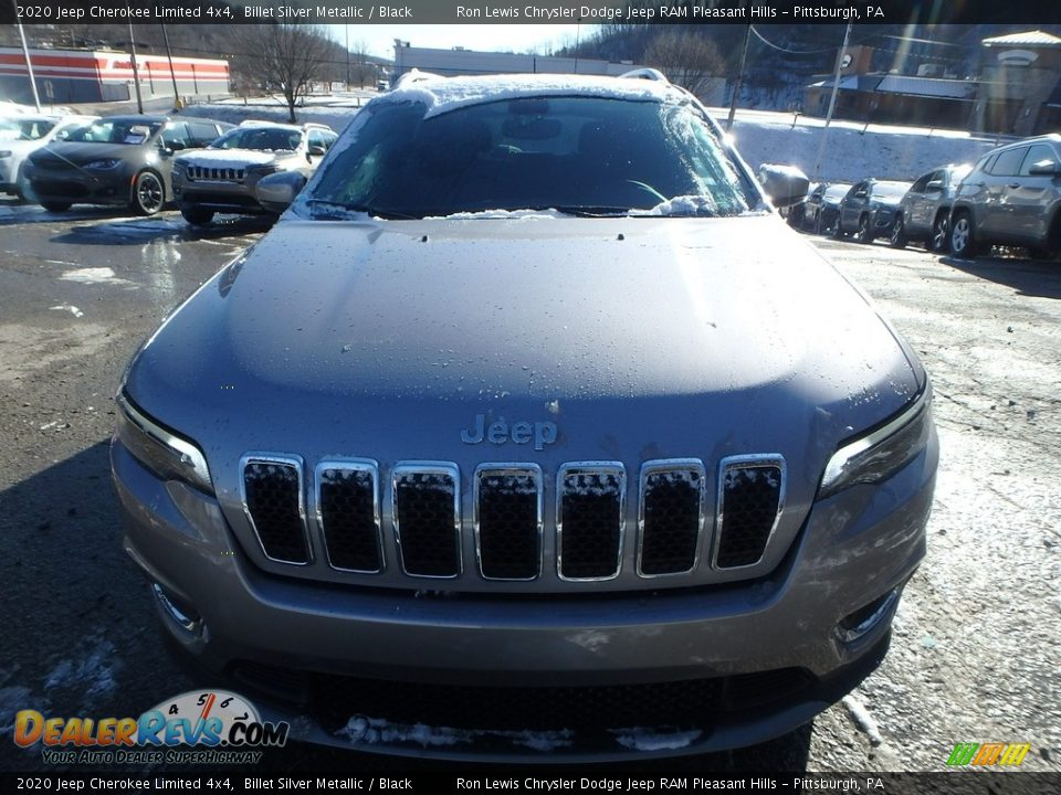2020 Jeep Cherokee Limited 4x4 Billet Silver Metallic / Black Photo #9