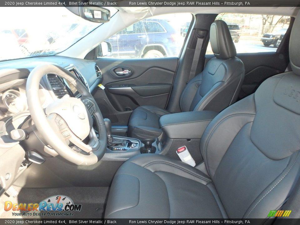 2020 Jeep Cherokee Limited 4x4 Billet Silver Metallic / Black Photo #11