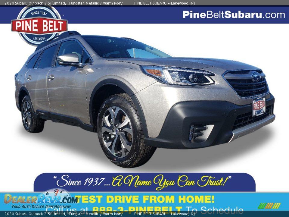 2020 Subaru Outback 2.5i Limited Tungsten Metallic / Warm Ivory Photo #1