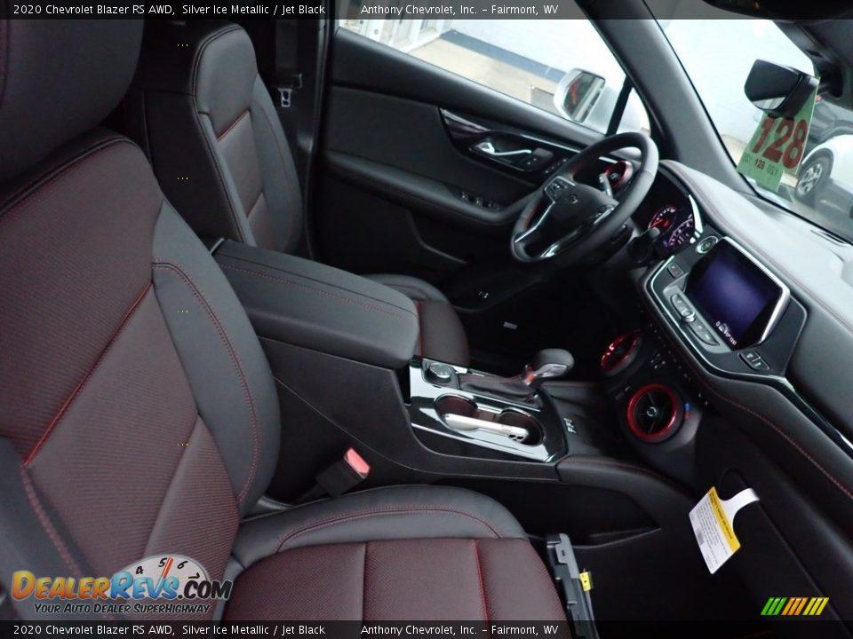 2020 Chevrolet Blazer RS AWD Silver Ice Metallic / Jet Black Photo #10