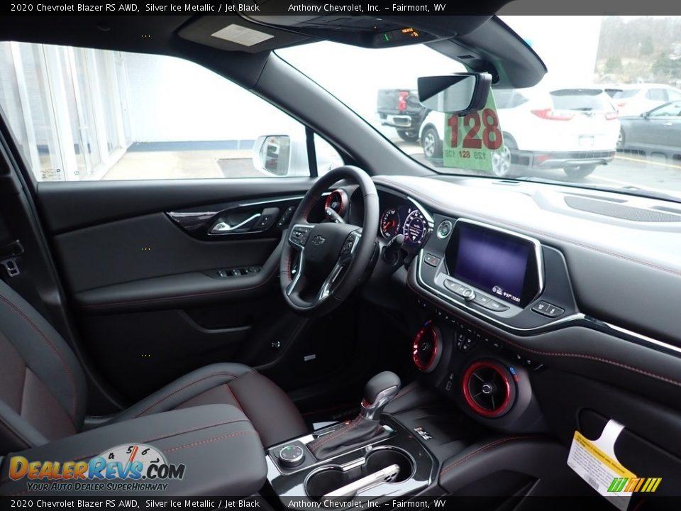 2020 Chevrolet Blazer RS AWD Silver Ice Metallic / Jet Black Photo #11