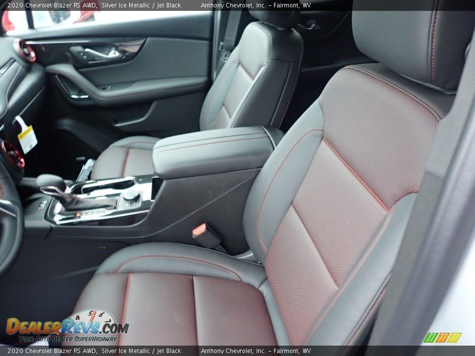 2020 Chevrolet Blazer RS AWD Silver Ice Metallic / Jet Black Photo #13