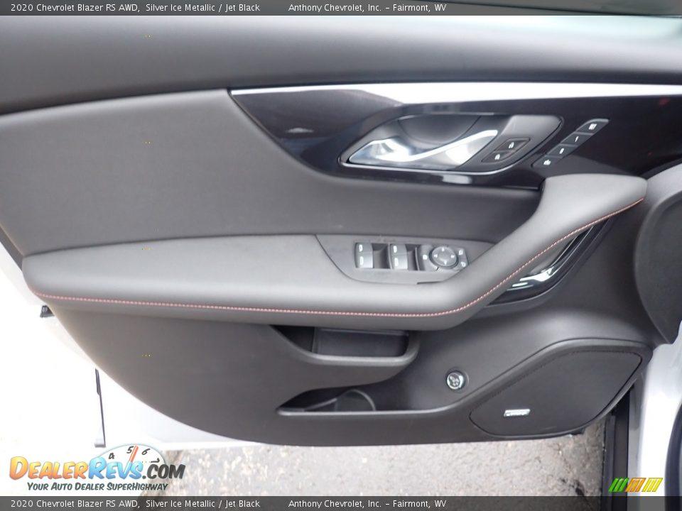 2020 Chevrolet Blazer RS AWD Silver Ice Metallic / Jet Black Photo #14