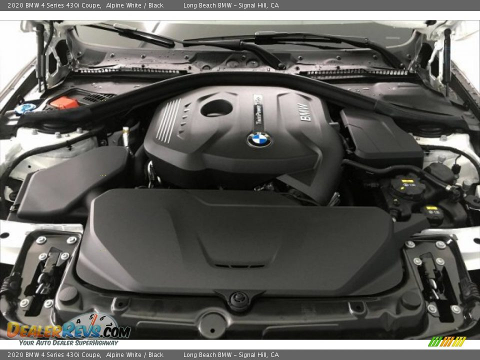 2020 BMW 4 Series 430i Coupe 2.0 Liter DI TwinPower Turbocharged DOHC 16-Valve VVT 4 Cylinder Engine Photo #9