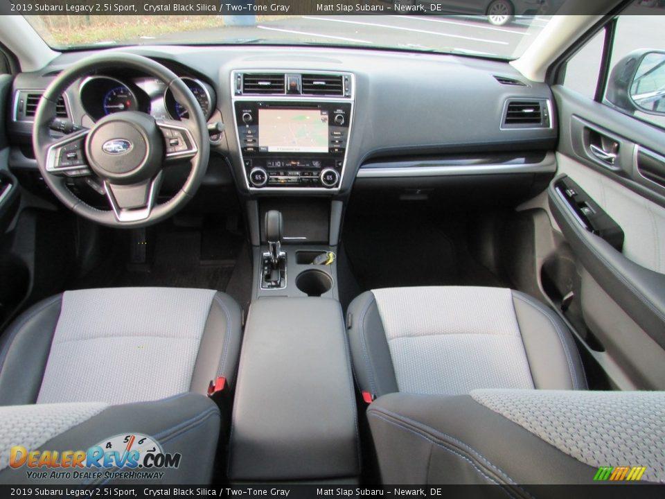 2019 Subaru Legacy 2.5i Sport Crystal Black Silica / Two-Tone Gray Photo #25