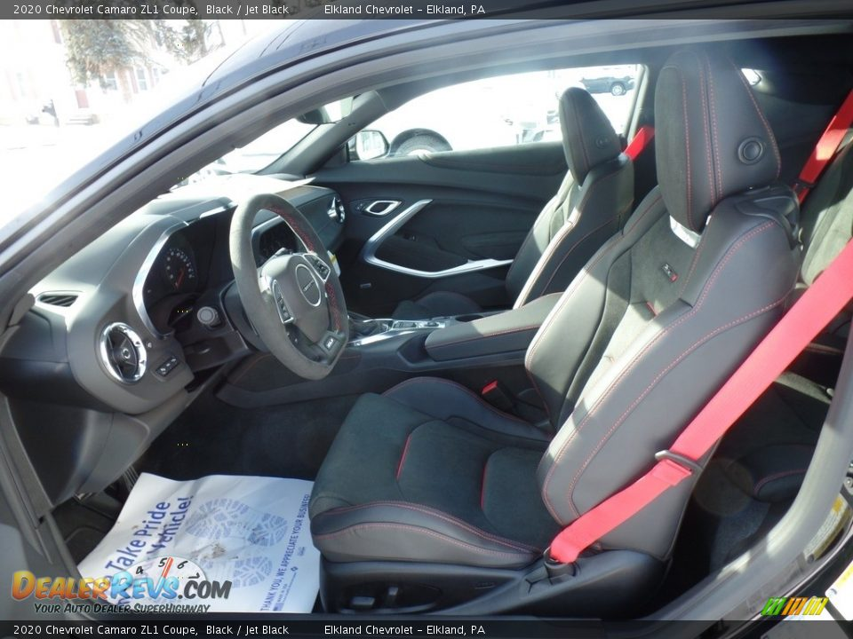 Front Seat of 2020 Chevrolet Camaro ZL1 Coupe Photo #14