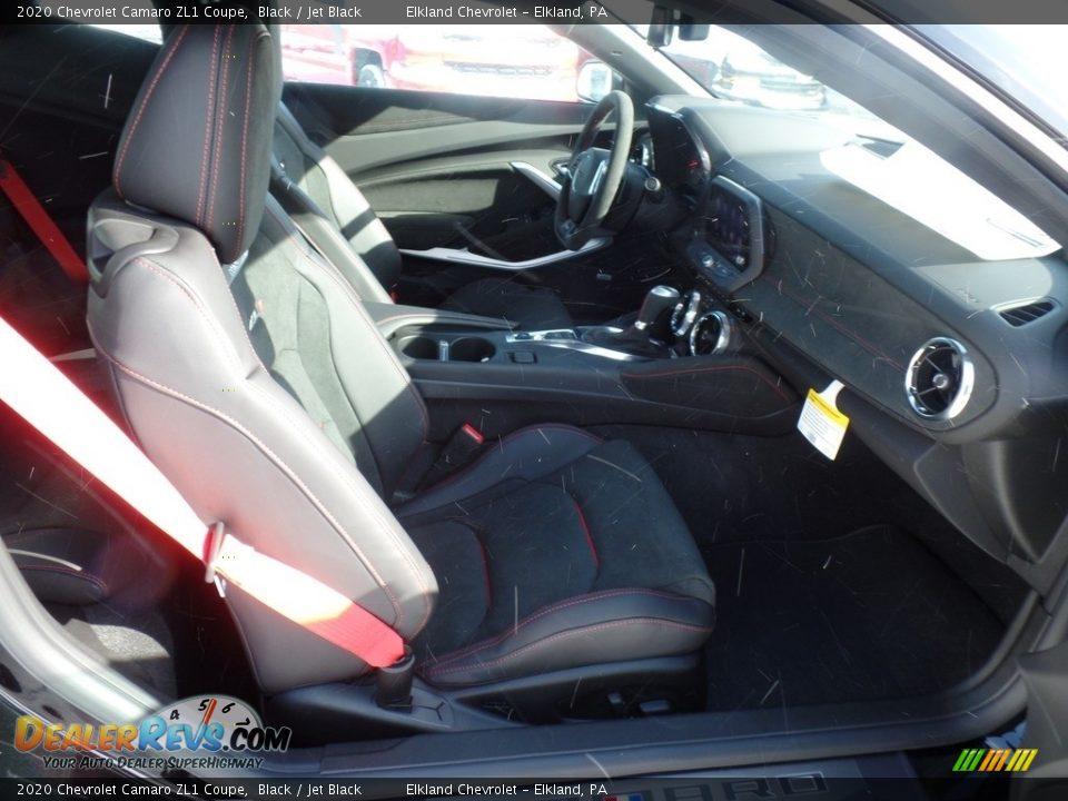 2020 Chevrolet Camaro ZL1 Coupe Black / Jet Black Photo #32