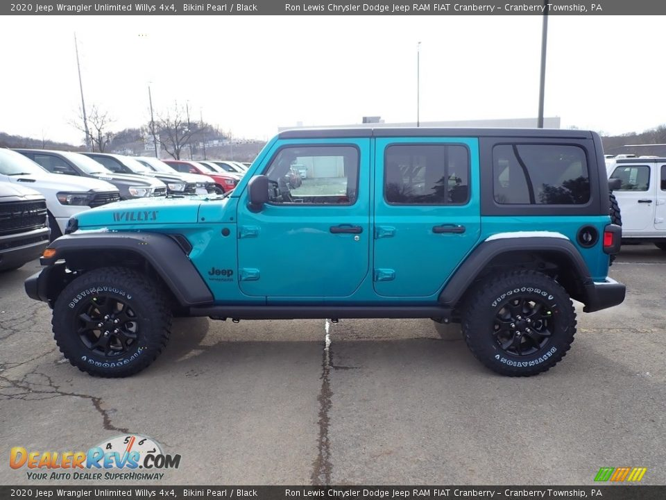 Bikini Pearl 2020 Jeep Wrangler Unlimited Willys 4x4 Photo #2