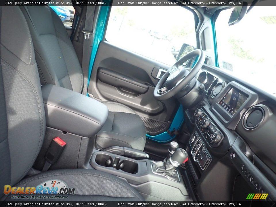 2020 Jeep Wrangler Unlimited Willys 4x4 Bikini Pearl / Black Photo #10