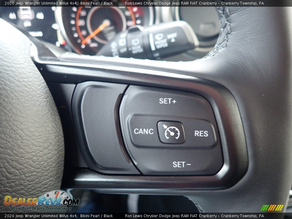 2020 Jeep Wrangler Unlimited Willys 4x4 Steering Wheel Photo #18