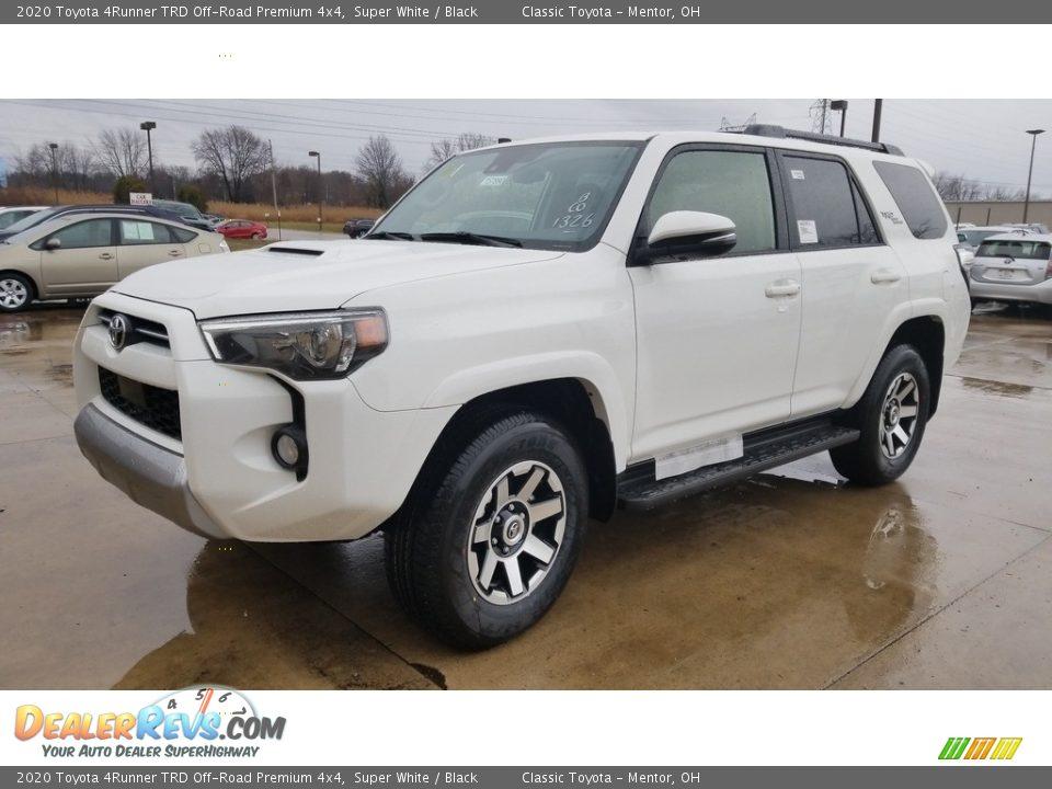 2020 Toyota 4Runner TRD Off-Road Premium 4x4 Super White / Black Photo #1