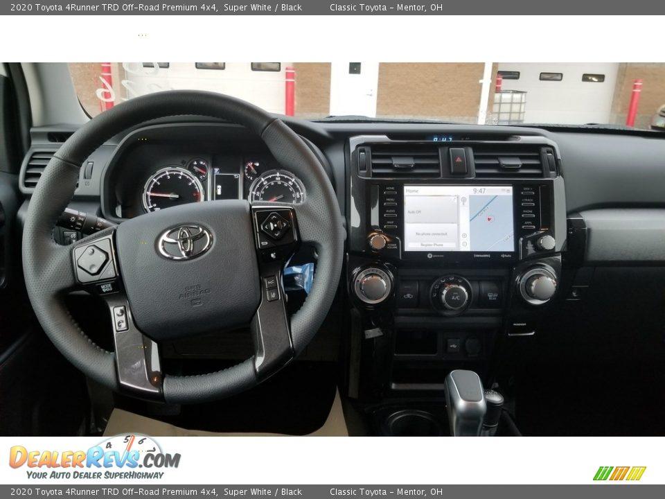 2020 Toyota 4Runner TRD Off-Road Premium 4x4 Super White / Black Photo #3