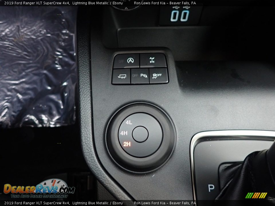 2019 Ford Ranger XLT SuperCrew 4x4 Lightning Blue Metallic / Ebony Photo #18