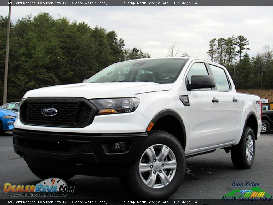 2020 Ford Ranger STX SuperCrew 4x4 Oxford White / Ebony Photo #1