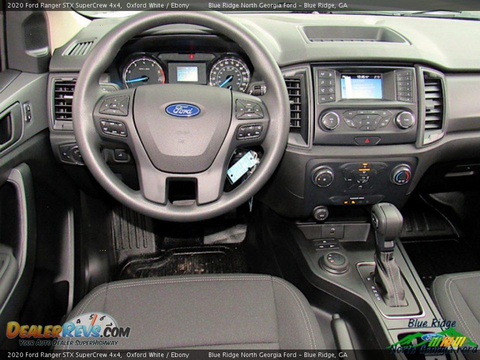 2020 Ford Ranger STX SuperCrew 4x4 Oxford White / Ebony Photo #14