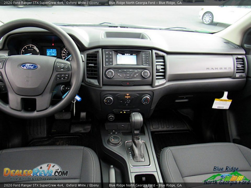 2020 Ford Ranger STX SuperCrew 4x4 Oxford White / Ebony Photo #15