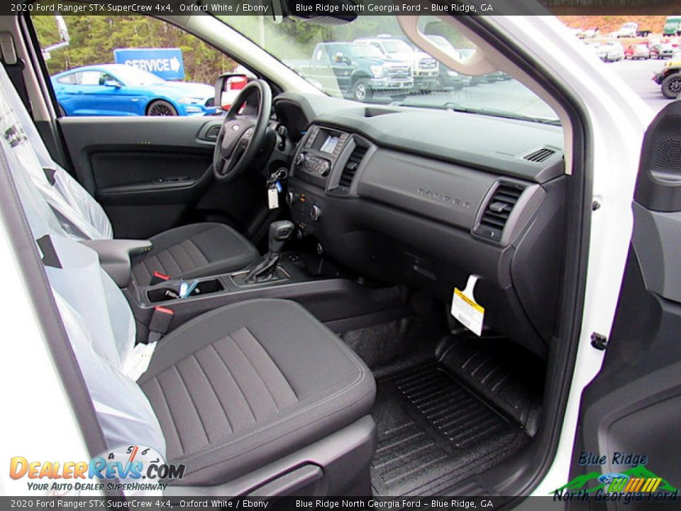 2020 Ford Ranger STX SuperCrew 4x4 Oxford White / Ebony Photo #27