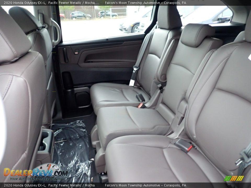 2020 Honda Odyssey EX-L Pacific Pewter Metallic / Mocha Photo #9