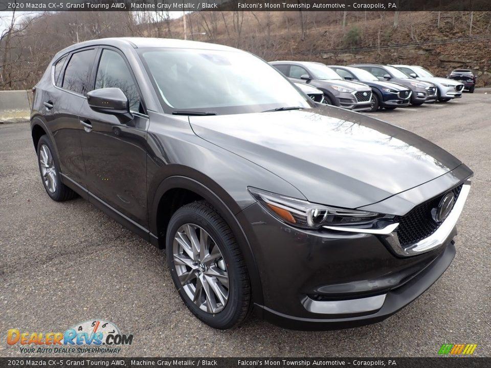 2020 Mazda CX-5 Grand Touring AWD Machine Gray Metallic / Black Photo #3