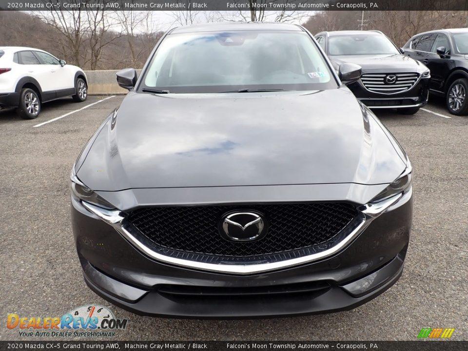 2020 Mazda CX-5 Grand Touring AWD Machine Gray Metallic / Black Photo #4