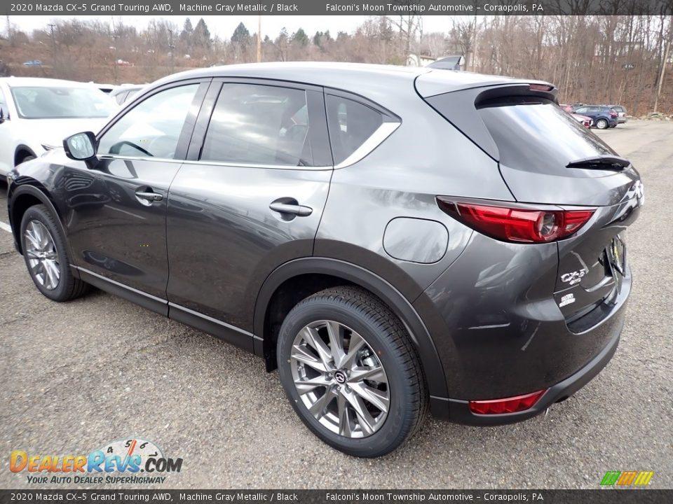 2020 Mazda CX-5 Grand Touring AWD Machine Gray Metallic / Black Photo #6