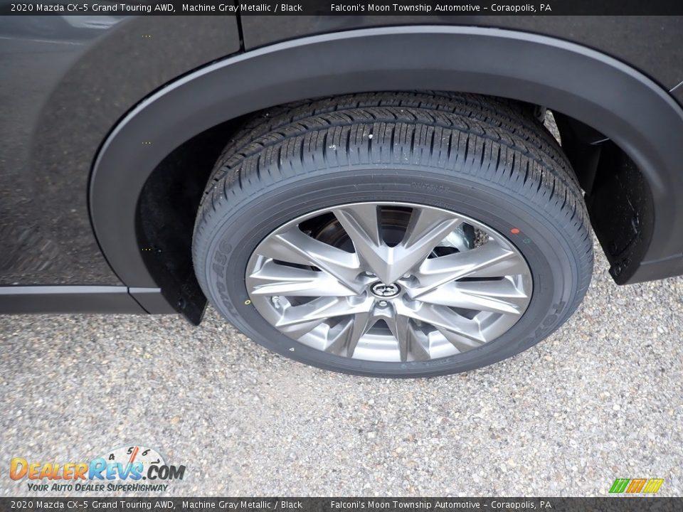 2020 Mazda CX-5 Grand Touring AWD Machine Gray Metallic / Black Photo #7