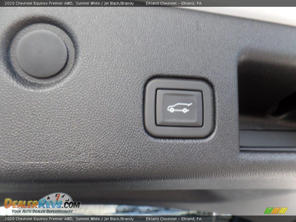2020 Chevrolet Equinox Premier AWD Summit White / Jet Black/Brandy Photo #11