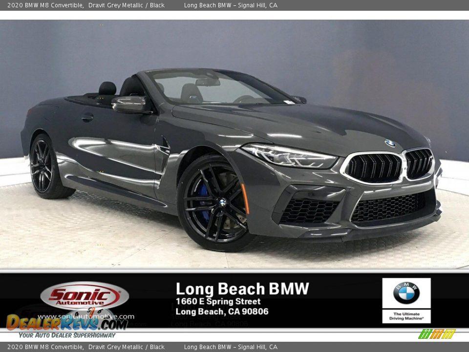 2020 BMW M8 Convertible Dravit Grey Metallic / Black Photo #1