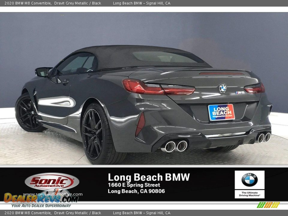 2020 BMW M8 Convertible Dravit Grey Metallic / Black Photo #2