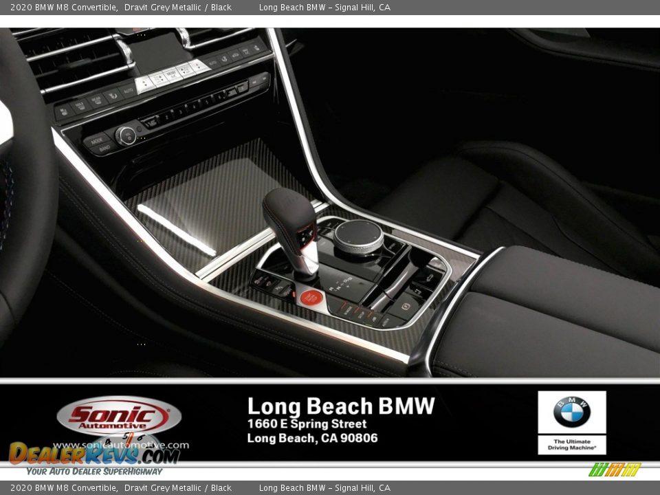 2020 BMW M8 Convertible Dravit Grey Metallic / Black Photo #6