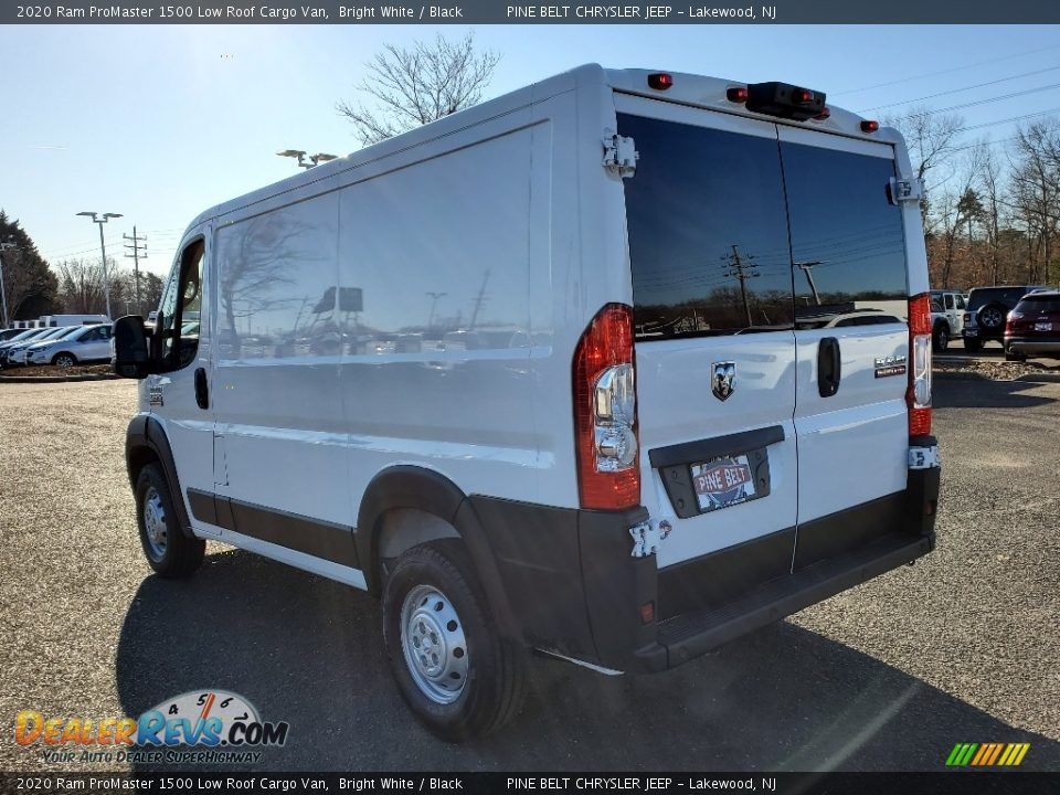 2020 Ram ProMaster 1500 Low Roof Cargo Van Bright White / Black Photo #4