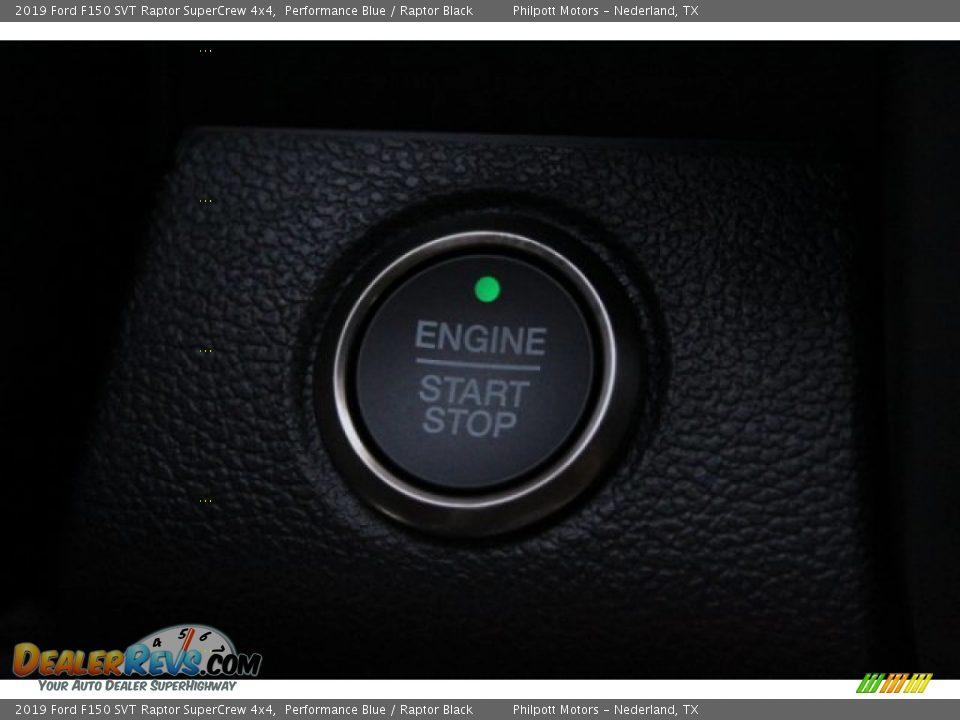 2019 Ford F150 SVT Raptor SuperCrew 4x4 Performance Blue / Raptor Black Photo #16