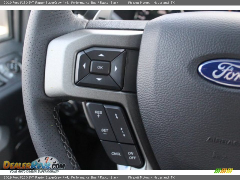 2019 Ford F150 SVT Raptor SuperCrew 4x4 Performance Blue / Raptor Black Photo #17