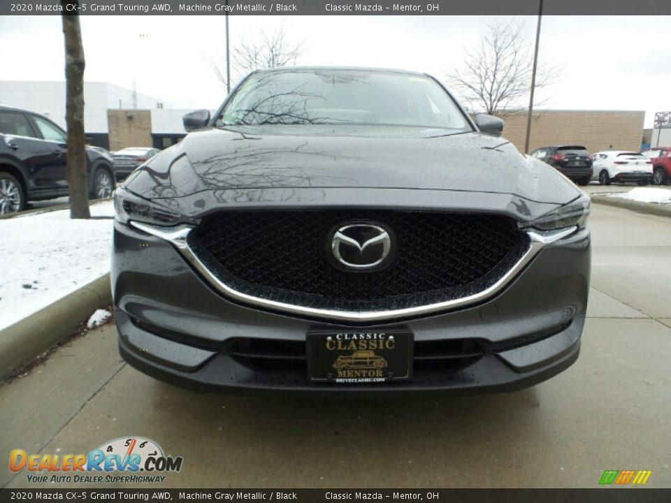 2020 Mazda CX-5 Grand Touring AWD Machine Gray Metallic / Black Photo #2