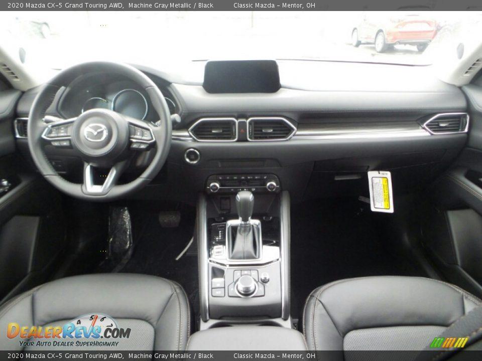 Dashboard of 2020 Mazda CX-5 Grand Touring AWD Photo #10