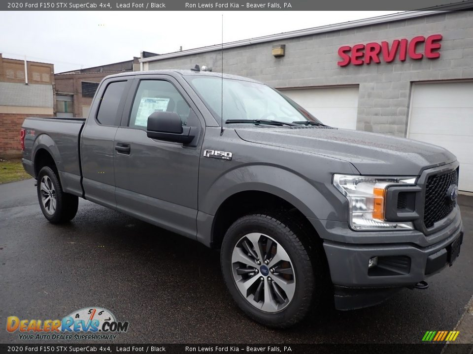 Front 3/4 View of 2020 Ford F150 STX SuperCab 4x4 Photo #8