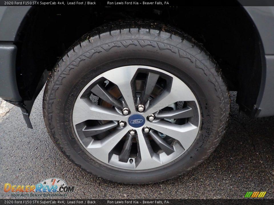 2020 Ford F150 STX SuperCab 4x4 Wheel Photo #9