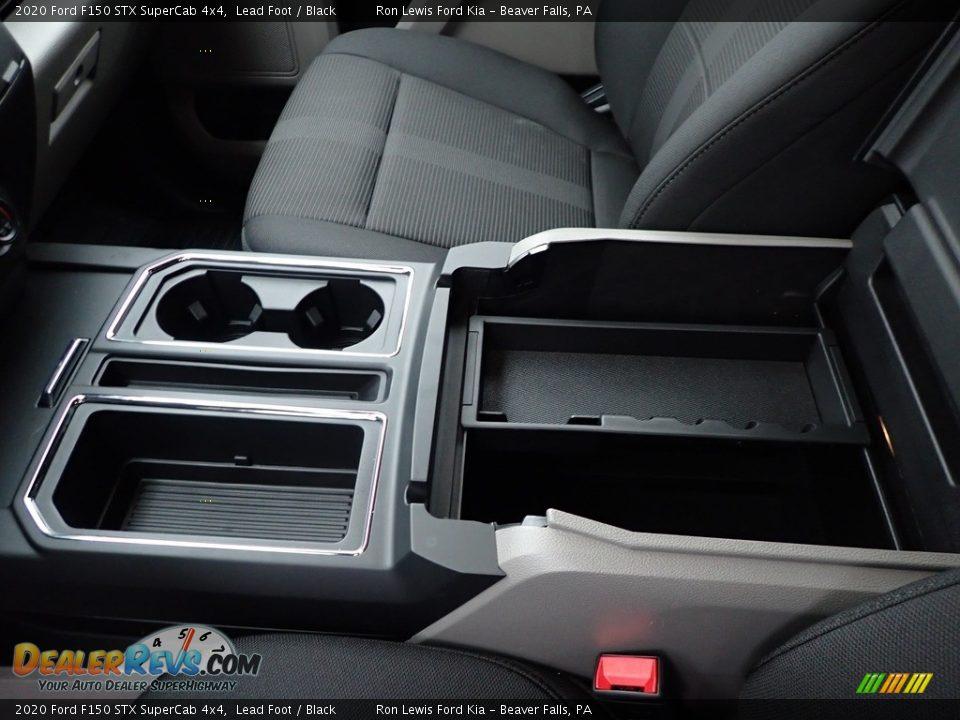 2020 Ford F150 STX SuperCab 4x4 Lead Foot / Black Photo #16